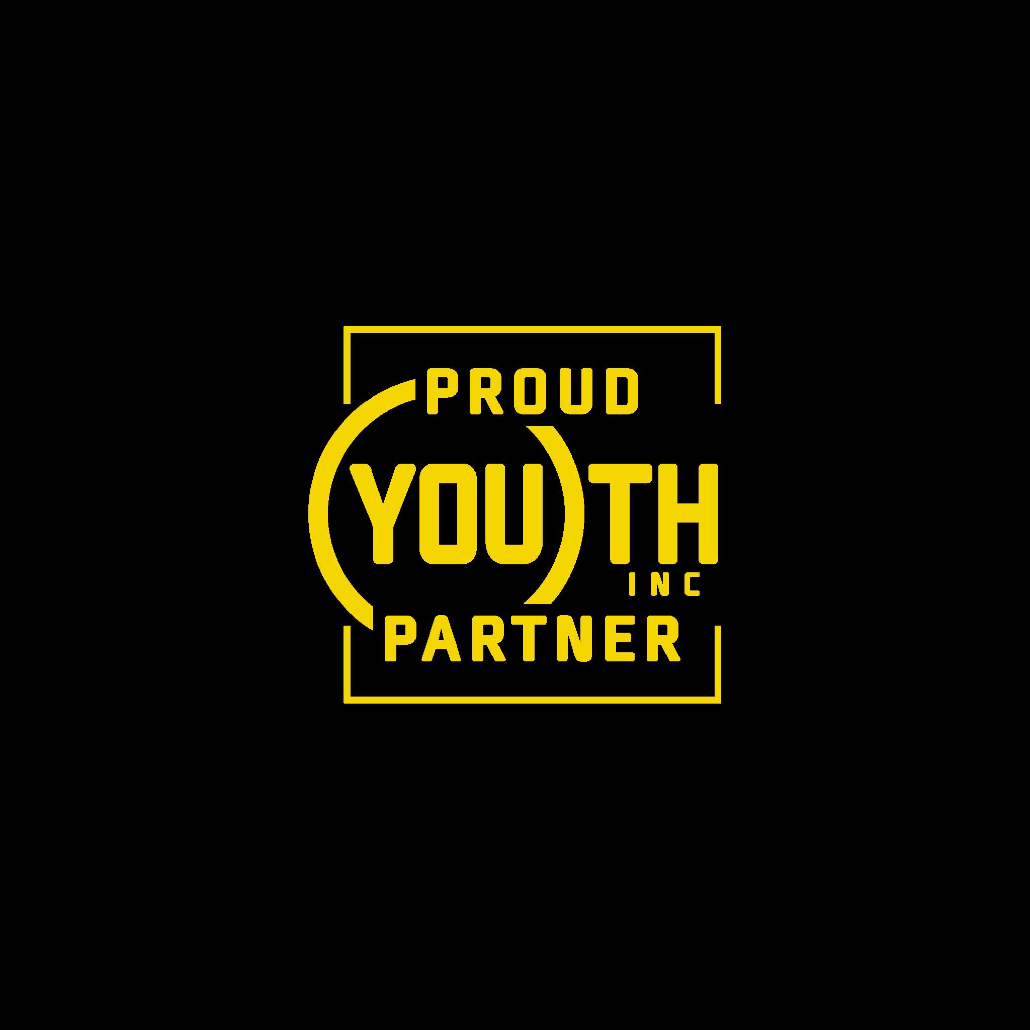 Youth INC Proud Partner Yellow (002)